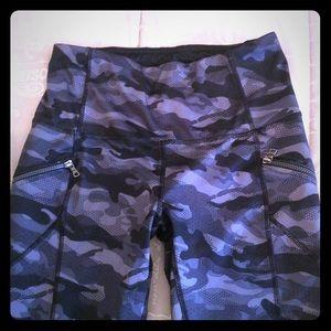 RBX grey camo capri leggings
